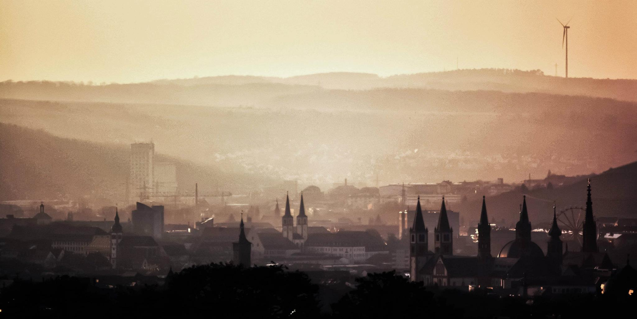 Picture of the city of Würzburg